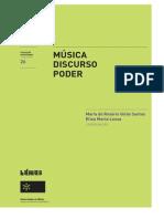 Musica Discurso Poder