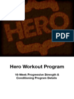 Hero Workout Program