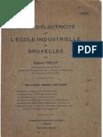 E.tricot - Cours d'Électricité(1913)