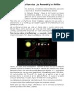 Las tablas de los Sumerios Los Annunaki y los Nefilim.doc