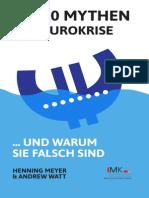2014 IMK - Meyer und Watt - 10 Mythen der Euro Krise