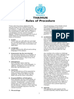 thaimun ii rules of procedure thaimun