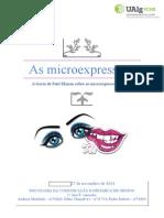 As Microexpressões - Trabalho Final