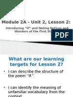 module 2a - unit 2, lesson 2