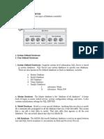 Data Bases in SQL Server
