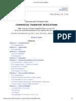 British Columbia Commercial Transport Regulations