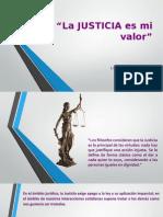 La Justicia - Neida Alvarado