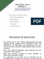 Dº Procesal Civil II (Unidad II)