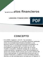 Contratos financieros