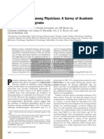 Substance Abuse Among Physicians- A Survey of Academic Anesthesiology Programs