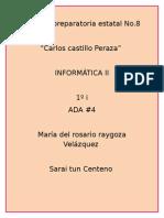 ADA 4 INFO