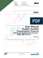 User Training Manual_PS_TP_End User V1.2 Final1