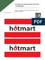 Hotmart - Como Ganhar Dinheiro Com Programas de Afiliados