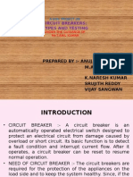 circuit breaker types and testing