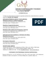 POSGRADOS CEVIP 2015