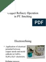 Copper Refinexzcsry Operation