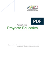 Proyecto Educativo del Colegio Público Intelhorce