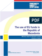 Use of EU Funds in the Republic of Macedonia