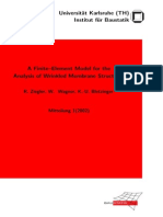 (2002) a Finite–Element Model for the Analysis of Wrinkled Membrane Structures