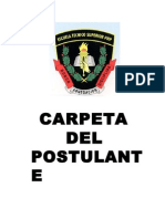 Carpeta de Postulante 2015-i Menores - Tarapoto