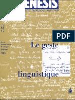 SOFIA - Comment écrire pour transmettre ? Modalités argumentatives chez Ferdinand de Saussure.