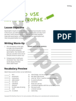 Writing Sample ESLlibrary :Apostrofes