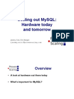 Scaling out MySQL - Hardware today and tomorrow