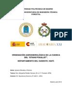 Ordenacion Agroecologica de La Cuenca Del Etang Pouillet