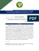 Novos Aspectos Fisiopatológicos Envolvidos No Transtorno Obsessivo-Compulsivo (TOC)