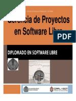 Gerencia de Proyectos de TI en SL Diplomado SL Marzo 2012