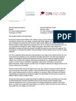 National Association of State Treasurers Letter to Speaker Boehner & Leader Pelosi