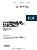 Formulaire de La Construction Metallique