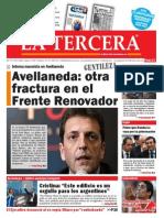 Diario La Tercera 25.02.2015