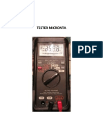 Manual Usuario Tester Micronta 22-167 Ok