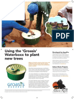Using the Groasis Waterboxx to Plant New Trees in Desert Regions
