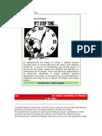 Administración de Tiempo