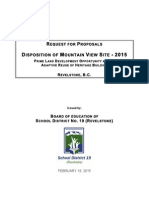Final 2015 RFP for Mountain View Site