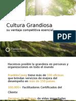 Cultura Grandiosa Su Ventaja Competitiva Esencial - Client Partners - JE - 1 May 2014