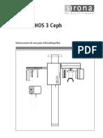 Instrucciones de Uso de Orthophos 3 Ceph