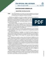 ORDEN EDU-2200-2009
