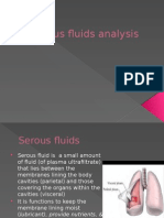 Serous Fluids Analysis