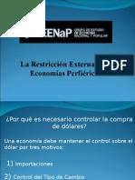 PPT1_Restriccion Externa y Control de Cambios