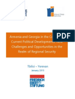 Armenia and Georgia in the Context of Current Political Developments. New Challenges and Opportunities in the Realm of Regional Security