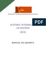 Manual General de Usuario - Sic