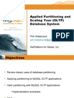 Applied Partitioning and Scaling Your Database System