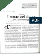El Futuro Del Tiempo - Articulo