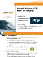 Cross Platform .NET Development with Mono and MySQL