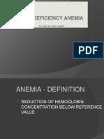 Anemia Defisiensi Besi A