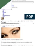 ¿Ojos Secos_ 4 Ejercicios y 7 Consejos Para Aliviar Las Molestias. Juan-M