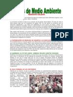 Charla de Medio Ambiente Nro 01 - RESIDUOS SOLIDOS